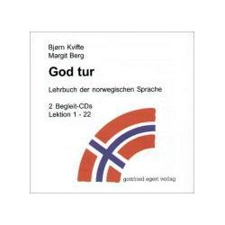 Hörbücher: God tur. Lehrbuch der norwegischen Sprache. Begleitcassette 1/2. 2 CDs  von Margit Berg, Björn Kvifte