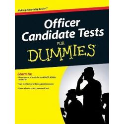 Officer Candidate Tests For Dummies by Jane R. Burstein, 9780470598764.