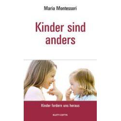 Bücher: Kinder sind anders  von Maria Montessori