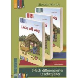"""Bücher: KidS - Literatur-Kartei: """"Luca will weg"""". 3-fach differenzierter Lesebegleiter  von Annette Weber"""