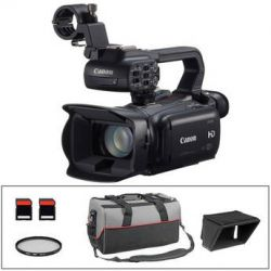 Canon XA25 Professional HD Camcorder Kit with LCD Hood, UV B&H