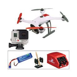 BLADE 350 QX RTF, GoPro HERO3+ Silver, Battery, Charger, &