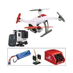 BLADE 350 QX RTF, GoPro HERO3+ Black, Battery, Charger, &