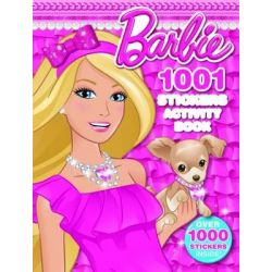 Barbie 1001 Sticker Activity Book by Mattel, 9781743463864.