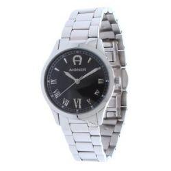 Aigner Damen Armbanduhr Silber A32652