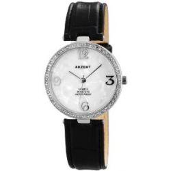 Akzent Damen-Armbanduhr Analog Quarz verschiedene Materialien SS8022000010