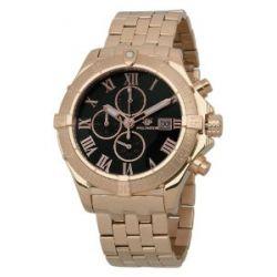 Wellington Herren-Armbanduhr XL Donegal Chronograph Edelstahl besch. WN114-328
