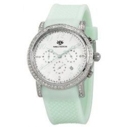 Wellington Damen-Armbanduhr Analog Silikon Amberley WN505-110B