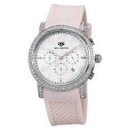 Wellington Damen-Armbanduhr Analog Silikon Amberley WN505-118