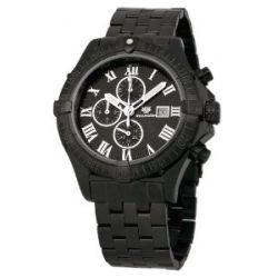 Wellington Herren-Armbanduhr XL Donegal Chronograph Edelstahl besch. WN114-622