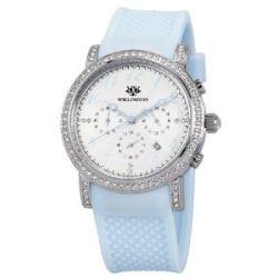 Wellington Damen-Armbanduhr Analog Silikon Amberley WN505-113