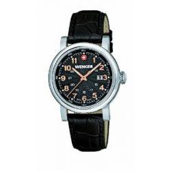 Wenger Damen-Armbanduhr XS Urban Classic Analog Quarz Leder 01.1021.105