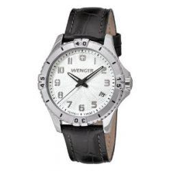 Wenger Damen-Armbanduhr Squadron Lady Analog Quarz Leder 01.0121.106