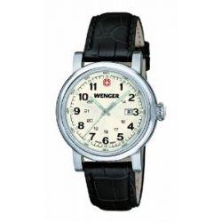 Wenger Damen-Armbanduhr XS Urban Classic Analog Quarz Leder 01.1021.102