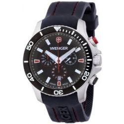 Wenger Herren-Armbanduhr XL Seaforce Chronograph Quarz Silikon 01.0643.102