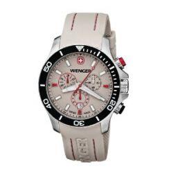 Wenger Herren-Armbanduhr XL Seaforce Chronograph Quarz Silikon 01.0643.105