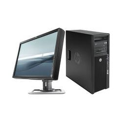"HP Z420 Series F1K03UT Workstation with 24"" IPS LED LCD B&H"