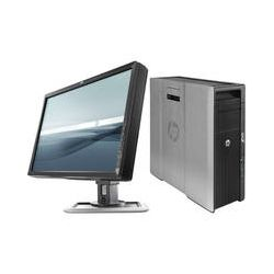 "HP Z620 Series Z620VER Tower Workstation with 24"" IPS LED"