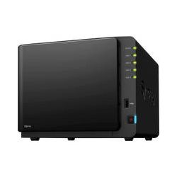 Synology DS414 Diskless 4-Bay SMB & SOHO NAS Server DS414