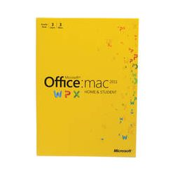 Microsoft Office for Mac Home and Student Edition 2011 W7F-00014
