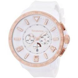 TENDENCE Unisex-Armbanduhr GULLIVER SPORT Analog Plastik Weiß TT560002
