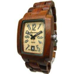 TENSE Holzuhren Men's Timber braun J8102S