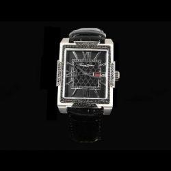 Thomas Sabo WA0038-203-203 Armbanduhr mit schwarzem Zirkonia