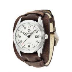 Timberland Herren-Armbanduhr XL Analog Quarz Leder TBL.13330JS/04