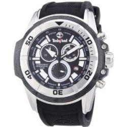 Timberland Herren-Armbanduhr XL Analog Quarz Silikon TBL.13671JS/02