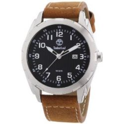 Timberland Herren-Armbanduhr XL Analog Quarz Leder TBL.13330XS/02