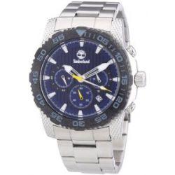 Timberland Herren-Armbanduhr XL Analog Quarz Edelstahl TBL.13612JSSB/03M