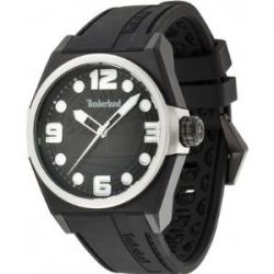 Timberland Herren-Armbanduhr XL Analog Quarz Silikon TBL.13328JPBS/02