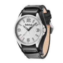 Timberland Herren-Armbanduhr XL Sebbins Analog Quarz Leder TBL.14117JS/04