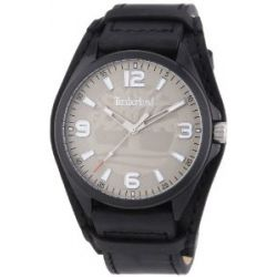 Timberland Herren-Armbanduhr XL Sebbins Analog Quarz Leder TBL.14117JSB/61