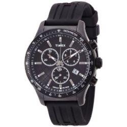Timex Herren-Armbanduhr Timex Style Analog schwarz T2N818D7