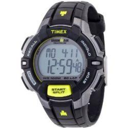 Timex Herren-Armbanduhr XL Ironman Traditional 30-Lap Rugged Digital Quarz Plastik T5K790