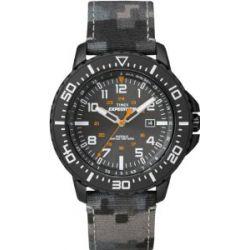 Timex Herren-Armbanduhr XL Expedition Uplander Camo Analog Quarz Textil T49966