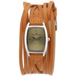 Tom Tailor Damen-Armbanduhr Analog Quarz Leder 5410703