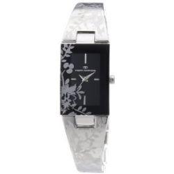 Tom Tailor Damen-Armbanduhr Analog Quarz Edelstahl 5410801