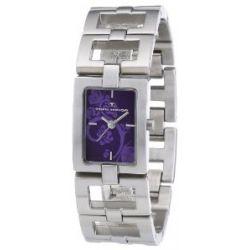 Tom Tailor Damen-Armbanduhr Analog Quarz Edelstahl 5408502