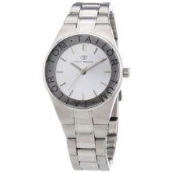 Tom Tailor Damen-Armbanduhr XS Analog Quarz Edelstahl 5410002