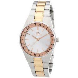 Tom Tailor Damen-Armbanduhr XS Analog Quarz Edelstahl 5410003