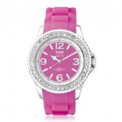 "Tom Watch Crystal 40 ""rasberry pink"", Einheitsgröße,pink"