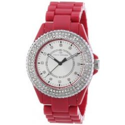 Tom Tailor Damen-Armbanduhr Analog Quarz Plastik 5411003