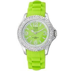 tom watch Damen-Armbanduhr XL Analog Silikon WA00019