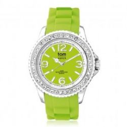 "Tom Watch Crystal 44 ""lemon green"", Einheitsgröße,grün"