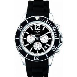 Tom Watch, Chrono 48mm, pepper-black Edelstahl, WA00097 Big Chrono pepper-black