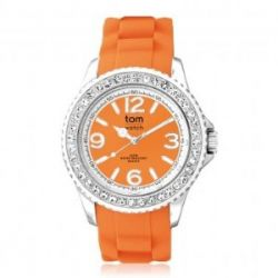 "Tom Watch Crystal 40 ""mandarin orange"", Einheitsgröße, orange"