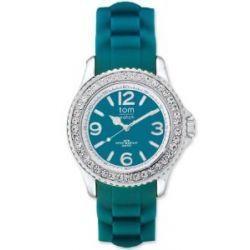 tom watch Damen-Armbanduhr XL Analog Silikon WA00047