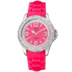 tom watch Damen-Armbanduhr XL Analog Silikon WA00022